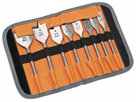 Bahco Flat Bit Set of 8 In Roll 9529 S8 £17.99