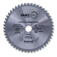 Trend Circular Saw Blade CSB/CC18424T CraftPro TCT Mitre Saw Crosscutting 184mm 24T 16mm £22.96