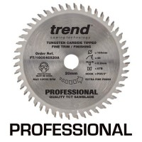 Trend Circular Saw Blade FT/160X48X20A Professional Fine Trim 160mm x 48T x 20mm £44.02