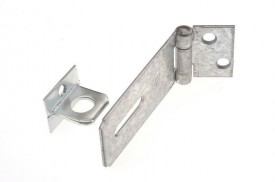 HS617 115mm Hasp & Staple Z/P £2.78