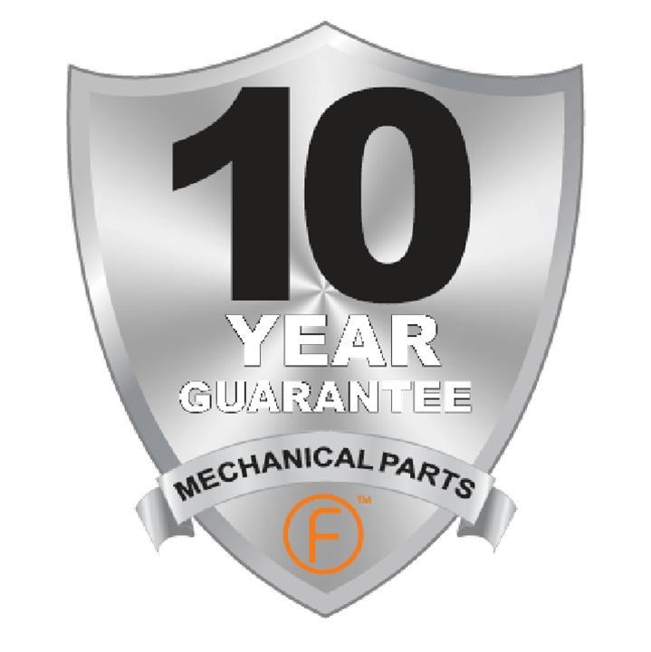 Fortessa 10 Year Guarantee