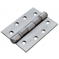 "Anvil 91039 4"" Ball Bearing Butt Hinges in Pairs Aged Satin Stainless Steel £10.92"