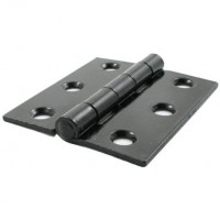 "Anvil 91040 3"" Butt Hinges in Pairs Black £11.20"