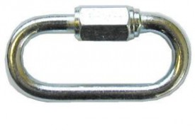 6mm Quick Repair Chain Links Galv £1.66