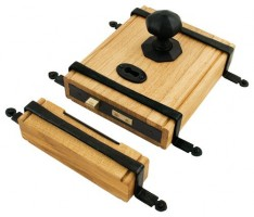 Anvil 33005 Oak Box Lock & Octagonal Knobs Black £359.48