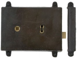 Anvil 33180 Rim Lock & Cast Iron Cover Beeswax £57.00