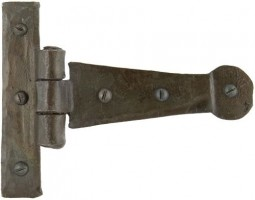 "Anvil 33188 Penny End 4"" Tee Hinges per Pair Beeswax £18.54"