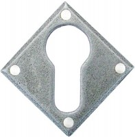 Anvil 33622 Diamond Euro Escutcheon Pewter Patina £13.72