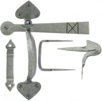 Anvil 33638 Gothic Thumblatch Set Pewter Patina £48.31