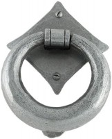 Anvil 33658 Ring Door Knocker Pewter Patina £69.55