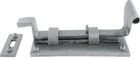 "Anvil 33659 4"" Cranked Door Bolt Pewter Patina £23.86"