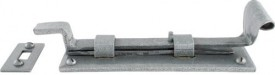 "Anvil 33662 6"" Cranked Door Bolt Pewter Patina £35.67"