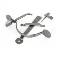 Anvil 33763 Heavy Bean Thumblatch Set Pewter £52.22