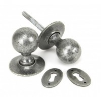 Anvil 33778 Round Mortice or Rim Knob Set Pewter £36.57