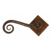 Anvil 33935 Monkeytail Lever Door Handles on Diamond Rosette Bronze £57.94