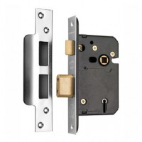 Securefast 76mm 5 Lever Sashlock Satin BS3621-2007 £26.92