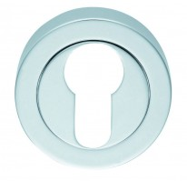 Carlisle Brass Euro Profile Escutcheon AA1CP Polished Chrome £7.68