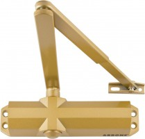 AR6800-GE 2-4 Overhead Door Closer Gold £37.63