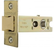 Arrone AR8019 100mm H/D Tubular Latch  SCP / PB £8.94