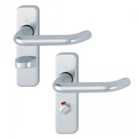 Hoppe 138S/267U (AR200S/15) Bathroom Lock Door Handles SAA £27.10