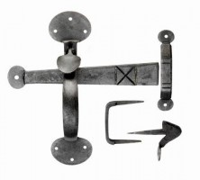 Ludlow BW5535 Bean Thumb Latch Door Handle Set Beeswax £30.86