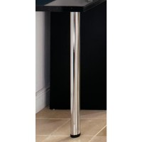 1100mm x 60mm Worktop Leg Chrome £18.15