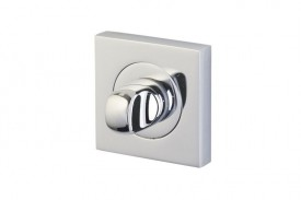 Bathroom Turn & Release on Square Rose Horizon Designer Polished Chrome 5751 £15.04