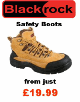 Blackrock safety wear and safety boots. Blackrock hi-vis safety clothing.