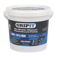 Gripit Blue Plasterboard Fixings 25mm Tub of 100 £37.49