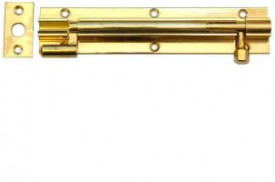 Barrel Bolt 100mm Necked Brass £3.59