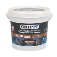 Gripit Brown Plasterboard Fixings 20mm Tub of 100 £36.75