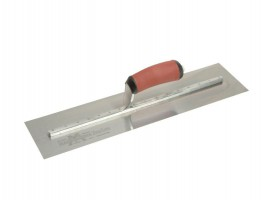 "Cement Finishing Trowel Stainless Steel DuraSoft Handle Marshalltown MXS77DSS 18"" x 4.3/4"" £77.81"