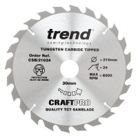 Trend Circular Saw Blade Craft Pro CSB/21036 210mm x 36T x 30mm £22.74