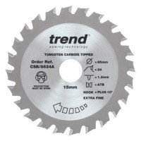 Trend Circular Saw Blade Craft Pro CSB/8524A 85mm x 24T x 15mm £9.20