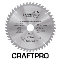 Trend Circular Saw Blade CSB/CC30578T CraftPro TCT Mitre Saw Crosscutting 305mm 78T 30mm £45.39