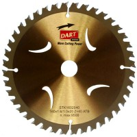Circular Saw Blade Dart 165mm x 20 bore x 40 Tooth Gold £32.41