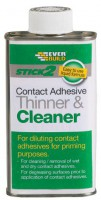 Contact Adhesive Thinners & Cleaner Everbuild Stick 2 250ml £5.98