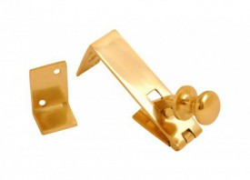 8270 Counter Flap Catch Brass £8.39