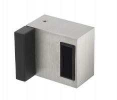 Deluxe Box Keep & Buffer for Toilet Cubicle Door Lock 10mm - 12mm Board T260P Polished Stainless £20.59