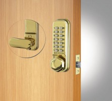 Push Button Door Locks | Digital locks with knobs or lever