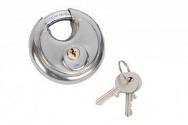 Fort Knox 70mm Discus Padlock Stainless Steel £6.93