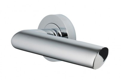 Door Handles Vision Designer Avior Lever on Round Rose Polished Chrome 5202