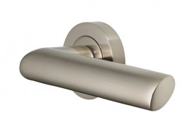 Door Handles Vision Designer Avior Lever on Round Rose Satin Nickel 5202 £13.26