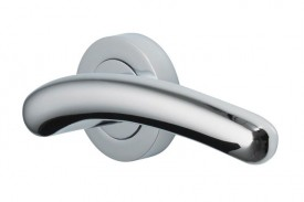 Door Handles Vision Designer Mira Lever on Round Rose Polished Chrome 5205 £13.26