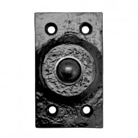 Foxcote Foundries FF33 Rectangular Bell Push Black Antique £3.74