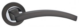 Door Handles on Rose Fortessa Polaris Gun Metal Grey & Polished Chrome £31.99