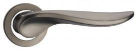 Door Handles on Rose Fortessa Vulcan Gun Metal Grey & Polished Chrome £31.99
