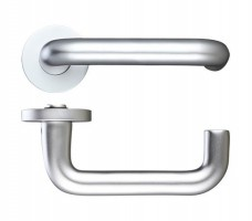 Zoo ZAA030SA 19mm RTD Lever On Rose Door Handles SAA £14.11