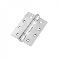 Zoo 100 x 76mm Grade 13 Ball Bearing Hinge Polished Stainless Steel per single £2.95