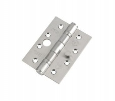 Zoo 102 x 76mm Ball Bearing Dog Bolt Security Hinge Grade 13 SSS per Single £3.50